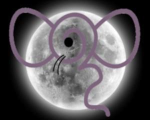 Luna llena de la Rata de Madera