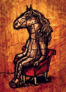 Caballo de Madera by Carlos Tourné
