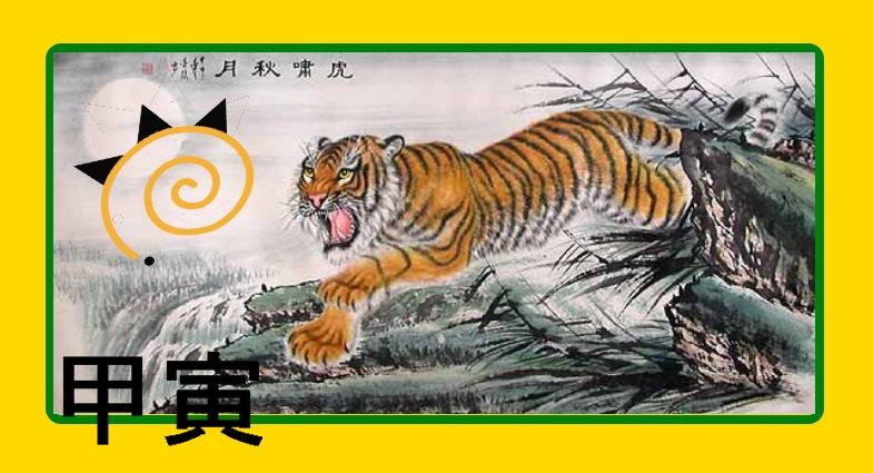Tigre madera